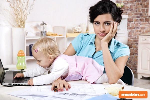 Nhu cầu tìm việc làm cho mẹ bỉm sữa tại nhà đang rất lớn