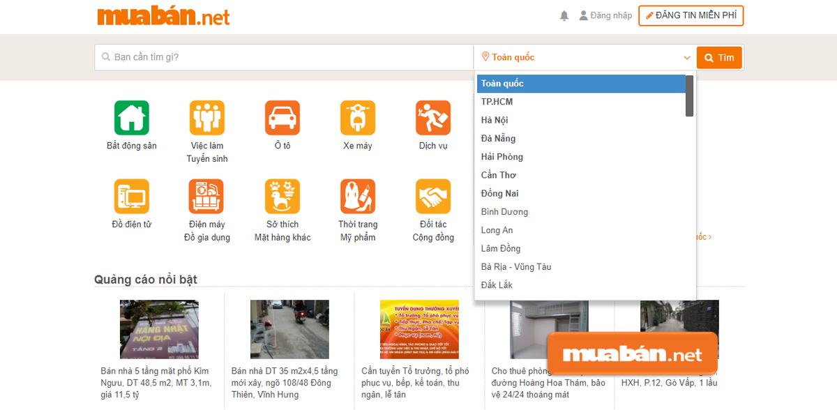Muaban.net là kênh giúp ích cho bạn trong việc tìm kiếm khách hàng